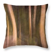 Magical Wood Throw Pillow