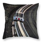 Maglev Train, Japan Throw Pillow