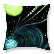 Magnetic White Dwarf Star Euvej0317-855 Throw Pillow