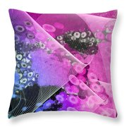 Magnification 1 Throw Pillow by Angelina Vick