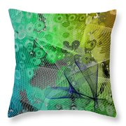 Magnification 5 Throw Pillow by Angelina Vick