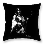 Mahogany Rush 4-14-78 Throw Pillow