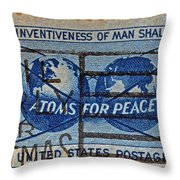 Mail Early For Christmas And Peace Throw Pillow