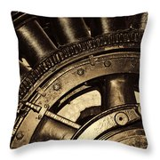 Main Generator Wheel Throw Pillow