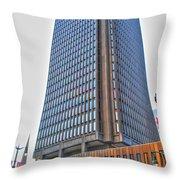 Main Place Tower Throw Pillow
