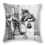 Maine: Womens Suffrage Throw Pillow