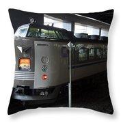 Maizuru Electric Train - Kyoto Japan Throw Pillow