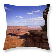 Majestic Views - Canyonlands Throw Pillow