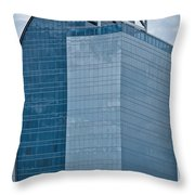 Majesty Building Throw Pillow