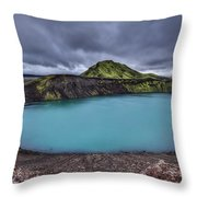 Majesty Of The Lake Throw Pillow