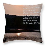 Make It A Practice Throw Pillow
