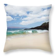 Makena Coast Throw Pillow