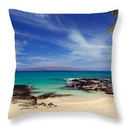 Makena Cove Maui Throw Pillow