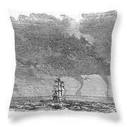 Malacca: Waterspouts Throw Pillow