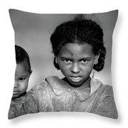 Malagasy Children Throw Pillow