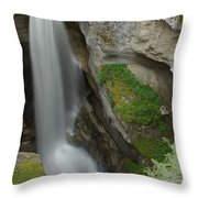 Maligne Canyon 2 Throw Pillow