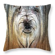 Briard Shepherd And Butterfly Throw Pillow