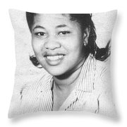 Mama Back In The Day Throw Pillow