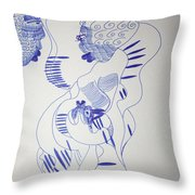 Mama Ne Tata 2 Throw Pillow