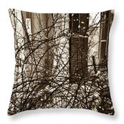 Mamaw's Front Porch Throw Pillow