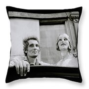The Mannequin Throw Pillow