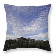 Man-of-war Cay Is A Protected Mangrove Throw Pillow