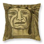 Man Of Wisdom - D Throw Pillow