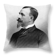 Man With Goatee, 1896 Throw Pillow