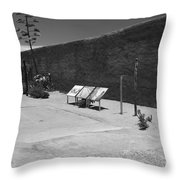 Mandelas Garden Throw Pillow