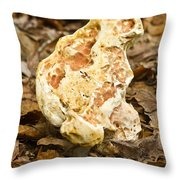 Mangled Fungus With Problems Throw Pillow