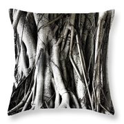 Mangrove Tentacles  Throw Pillow