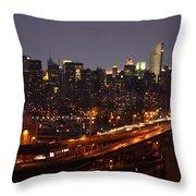 Manhattan- 2 Throw Pillow