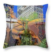 Brazilian Fantasy Throw Pillow