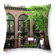 Manhattan Morning Throw Pillow