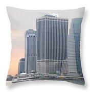 Manhattan The Beauty Throw Pillow