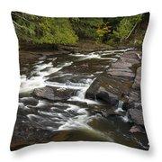 Manido Falls 6 Throw Pillow