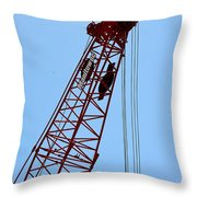 Manitowoc Skies Throw Pillow