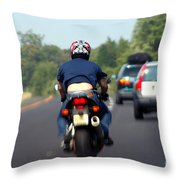 Manual Air Conditioning Throw Pillow