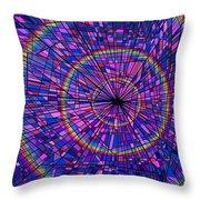 Many Rainbows Throw Pillow