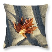 Maple Leaf Forever Throw Pillow