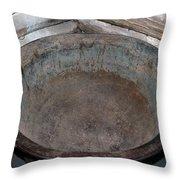 Maple Sap Boiling Pot Throw Pillow