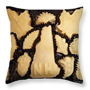 Maple Sugar Candies Throw Pillow