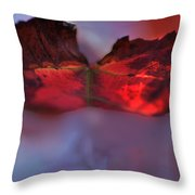 Maple Winds Throw Pillow