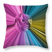 marabou Colour Splash Throw Pillow