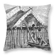 Maracaibo Dwelling Throw Pillow