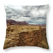 Marble Canyon Overlook Throw Pillow