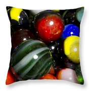 Marble Collection 22 A Throw Pillow