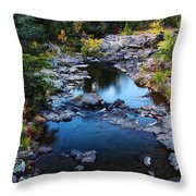 Marble Creek 2 Throw Pillow
