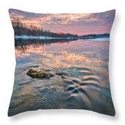 Marble Sky Throw Pillow