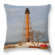 Marblehead Light Throw Pillow